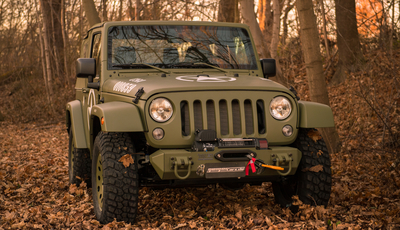 Jeep-Sondermodell von Geiger: Wrangler in Uniform
