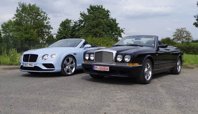 Impression: Bentley Azure und Continental GT V8 S Convertible - Britische Genussmittel