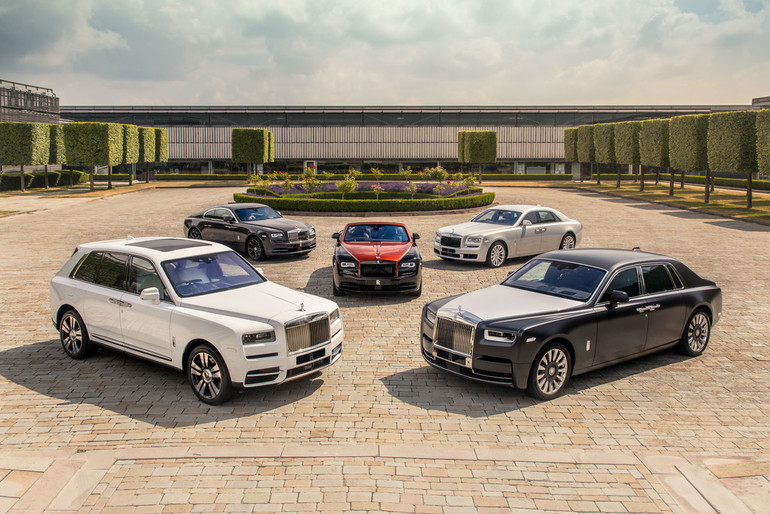 1000 Rolls-Royce in Goodwood zu sehen
