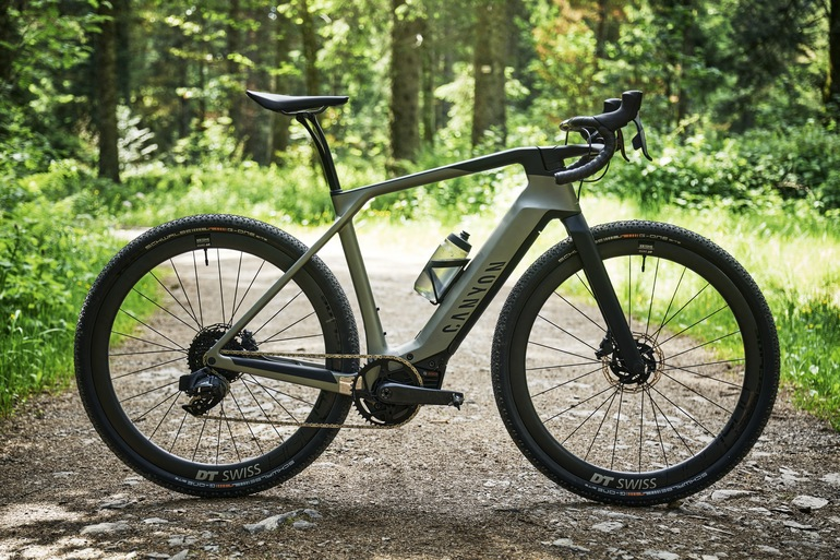 Canyon Grail:On CF - E-Rennrad fürs Grobe