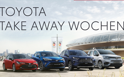 ''Take Away'' bei Toyota